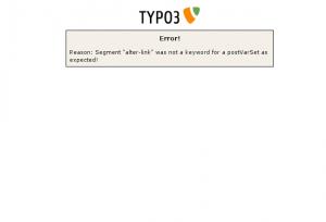 TYPO3 404-Seite